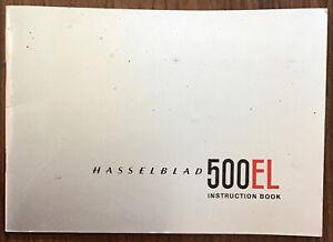Original Hasselblad 500EL Instruction Manual, English