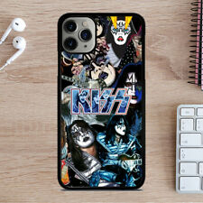 ACE FREHLEY KISS BAND COLLAGE iPhone 6/6S 7 8 Plus X/XS XR 11 Pro Max Case Cover