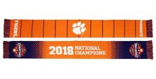 Clemson Tigers 2018 College Football National Champions Scarf  CFP