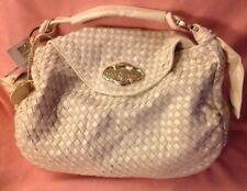 Signature White Baby Phat LG Overnight/Handbag