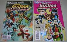 DC COMICS PRESENTS: YOUNG JUSTICE #s 2 & 3 (2011) 100-PAGE SPECTACULAR (VF-)