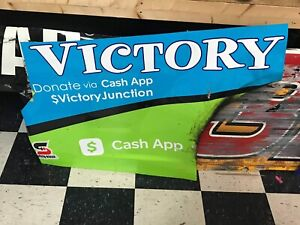 Bubba Wallace 2020 RPM Victory Junction Nascar Race Used Sheetmetal Rear Qtr