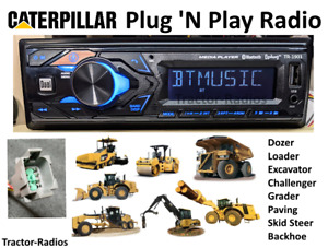 Plug & Play Caterpillar Tractor Radio Bluetooth Loader Dozer Excavator Cat