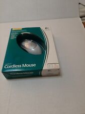 Vintage Logitech Cordless ballWheel Mouse with Receiver Installation Software