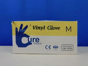 Splashes & Spills Cure Guard 128 - Einweg Vinylhandschuhe Handschuhe Größe M Wie
