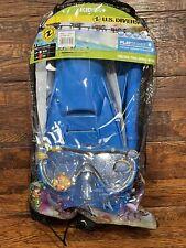 New listing U.S. Divers Kids Coral Snorkel Set Size L/XL 1-4 Shatter Resistant, Anti-fog