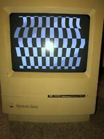 Vintage Apple Macintosh Classic Desktop