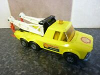 VINTAGE MATCHBOX SUPER KINGS K6/11 SHELL RECOVERY PICK UP TRUCK 1974 VGC