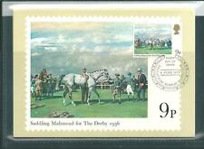 GB - PHQ CARDS -1979 - HORSE-RACING - FRONT - FDI/SHS - COMP. SET USED