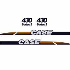 CASE 430 Decals Stickers Skid loader Repro kit