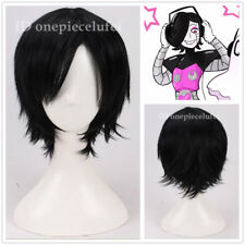 Undertale Mettaton Short Black straight Cosplay Party Wig +a wig cap