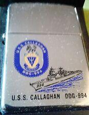 ZIPPO Us navy USS CALLAGHAN DDG 994 NEW 1994