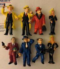 "Applause Disney Dick Tracy 100% Complete Lot 4"" Vinyl Figures x8 Pvc Vintage"