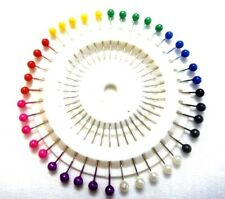 SET LOT 40 pcs Pearl Head Pins - For Quilters Crafting Sewing Drapery Upholstery