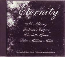 Eternity 4-track promo CD (1994) Atlas Strings Rebecca's Empire & more