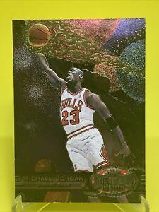 1997-98 SKYBOX METAL UNIVERSE #23 MICHAEL JORDAN CHICAGO BULLS