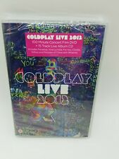 Coldplay Live in Concert 2012 DVD+CD--DVD Case - Coldplay CD HOVG The Fast