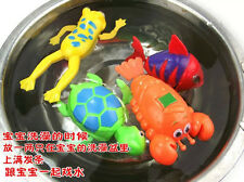 MG CA Swimming Frog Pool Bath Cute Toy Wind-Up Swim Frogs Kids Toy