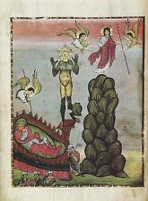 Siglo X el sueño de Nabucodonosor, Ángeles Cristo 7x5 Pulgadas impresión