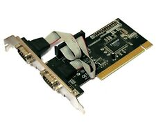 Rosewill RC-301 PI2NM9835X2C - 2 Port RS232 COM - PCI Adapter Card [5707]