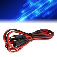 150cm 60W Câble d'extension d'alimentation mâle à femelle DC5521 durable 5V-36V
