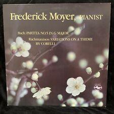 BACH Partita #5 & RACHMANINOV Variations on Corelli - FREDERICK MOYER - ST LP