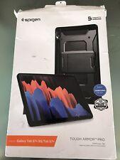 Spigen Rugged Case Tough Armor Pro for Galaxy Tab S7+5G / Tab S7+ Gunmetal