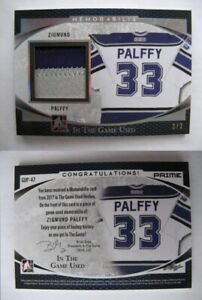 2016-17 ITG Used GUP-47 Zigmund Palffy 2/2 SICK patch  kings