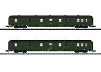 """Minitrix / Trix N 15311 Postwagen-Set """"Gex"""" der DR """"Neuheit 2020"""" - NEU + OVP"""