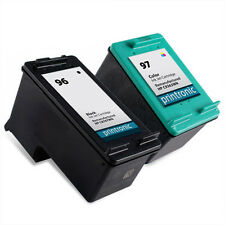 2pk Printronic For HP 96 97 C8767WN C9363WN Black Color Ink Cartridge