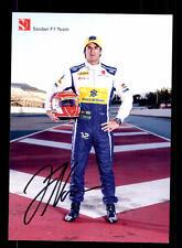 Felipe Nasr Autogrammkarte Original Signiert Formel 1 +A 153325