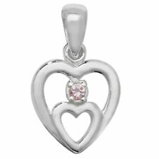 Bigiotteria rosa zircone cubica a cuore