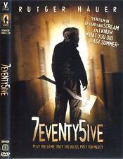 7EVENTY5IVE, Rutger Hauer DVD R2- (seventy five, 75)