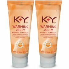 KY Warming Jelly Personal Lubricant 2.5oz ( 2 pack )