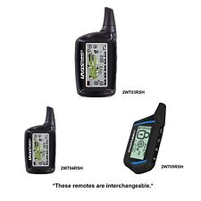 Compustar 2W703Rsh Two Way Lcd Replacement Remote Transmitter 2W705Rsh 2W704Rsh