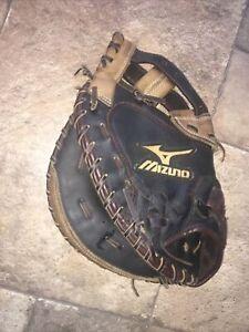 "Mizuno GXS-92 Franchise 34"" Fastpitch Softball Catchers Mitt LEFT Hand Throw"