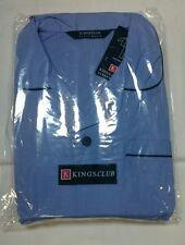 New Kings Club Sky Blue Traditional 2 Piece Pyjamas 3XL 5XL & 7XL