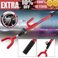 Universal Vehicle Van Anti-Theft Steering Wheel Lock Security Device W/ Keys ST