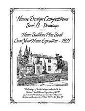 House Design Competitions - Book 13 Drawings - Home Builders Plan Book - 1921