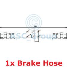 Apec BRAKING 202mm Bremsscheiben Bremssattel Flexible Gummi Schlauch HOS3325