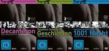 Pier Paolo Pasolini tolldreiste Geschichten + Erotische aus 1001 Nacht Decameron