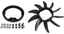 GKTech Engine Fan & Adapter Combo for Nissan R31/R32/R33/R34/A31/300ZX GTS/GTR