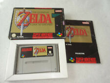 The Legend of Zelda a Link to the Past SNES juego con embalaje original y guía