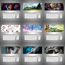 New Extended Gaming Mouse Pad Large Size Desk Keyboard Mat Soft  for Home Office