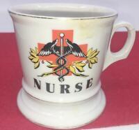 NURSE ANTIQUE OCCUPATIONAL MUG COFFEE CUP  VICTORIAN MEDICAL GIFT MEDICINE