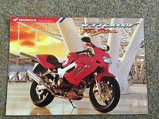1996 Honda VTR 1000F Firestorm 6 page fold out Motorcycle Brochure