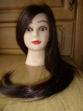 Salon Hair Styling Hairdressing Practice Doll Head Training Mannequin