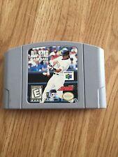 All Star Baseball 99 Nintendo 64 N64 Game Cart Good Tested BA5