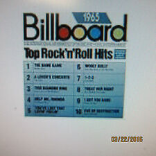 Billboard Top Hits 1965 QRS Pianomation CD