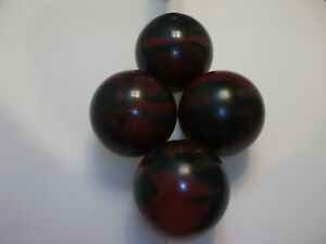 Candlepin Balls/REFINISHED/Epco Scorpion Pro Rubber/2lbs 6.25oz/Perfect Cond